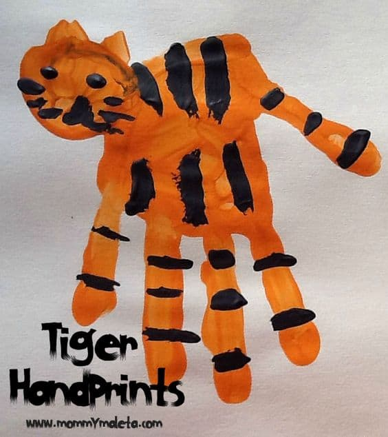 tiger craft ideas 15 tiger themed crafts 3107
