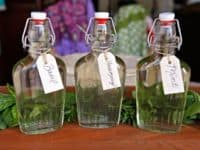Herb infused simple syrup 200x150 Delicious Homemade Simple Syrups that Beat Gourmet Treats