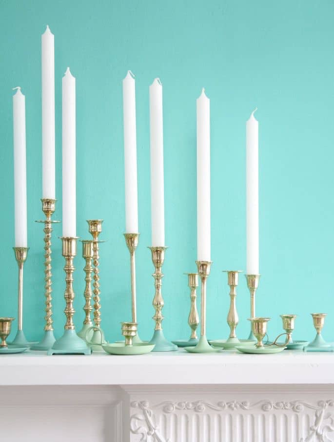 paint-dipped-brass-candlesticks