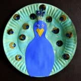 Colorful Treat: 14 Peacock Themed Crafts for Kids!