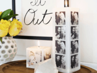 Photo candles 200x150 15 Creative DIY Engagement or Wedding Gift Ideas