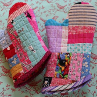 DIY Oven Mitts and Hot Pads