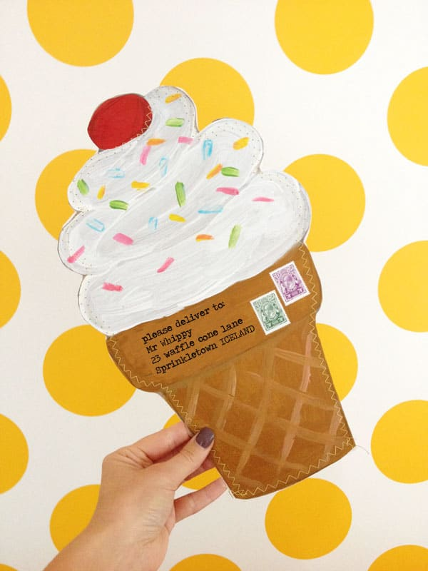 sewn-ice-cream-cone-envelope
