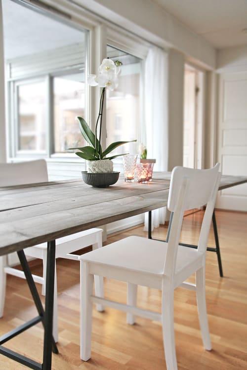 Simple reclaimed wood tabletop