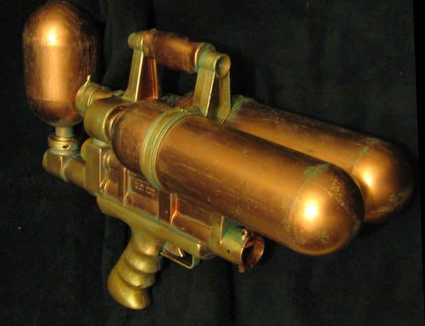 Steampunk water gun