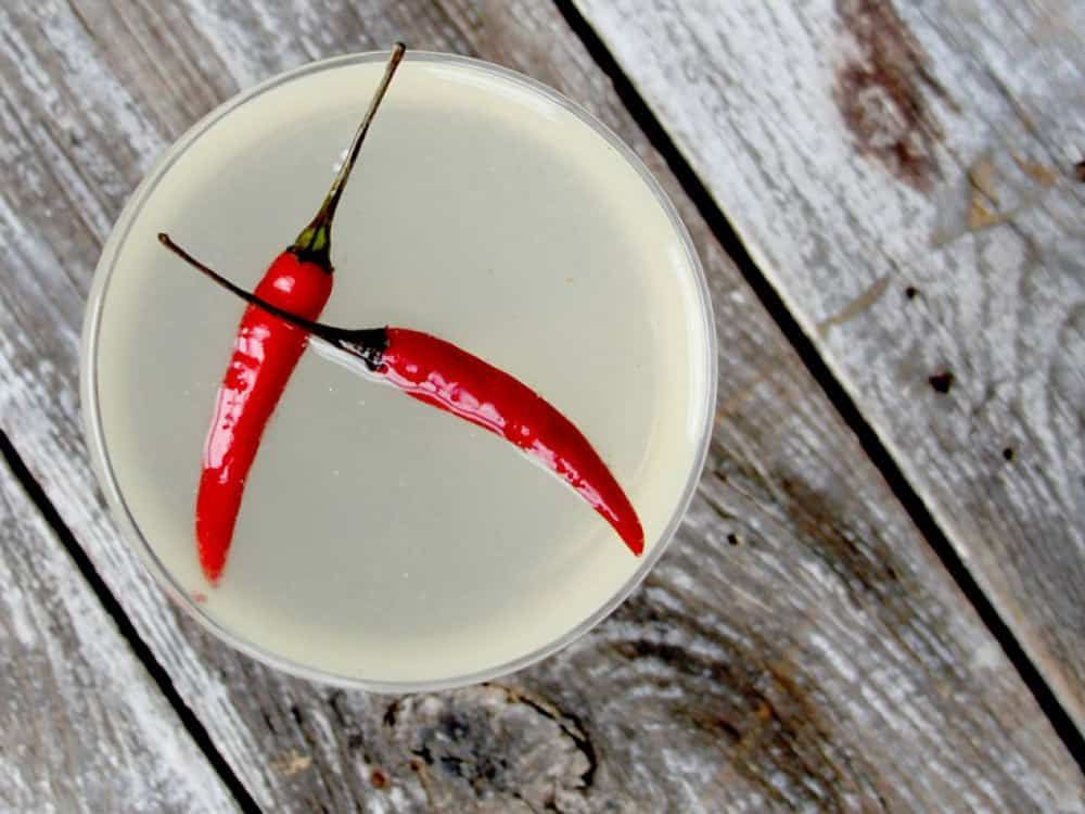 Thai chili simple syrup