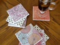 Tile coasters 200x150 DIY Projects Involving Tiles