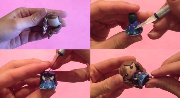 Tiny Princess Anna charm