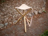 Tripod camping stool 200x150 15 Creative DIY Engagement or Wedding Gift Ideas