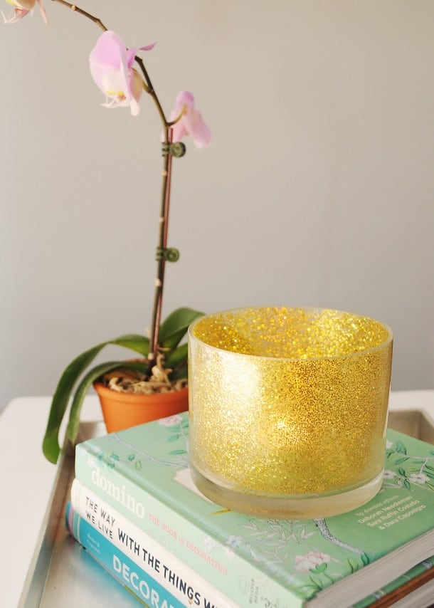 gold-glitter-candle-holder