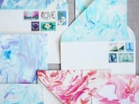 paper marbling 200x150 10 DIY Faux Marble Projects That Will Take Your Breath Away