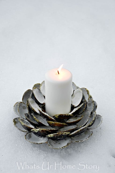 seashell-candle-holder