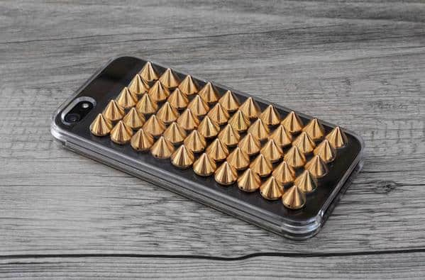 spiked phone case