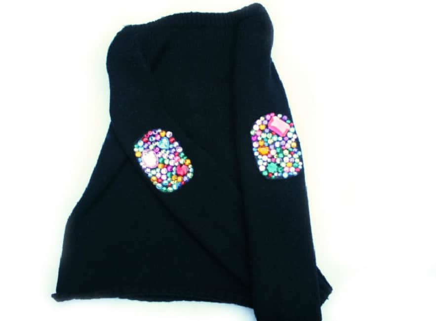 Bedazzle Elbow Patches