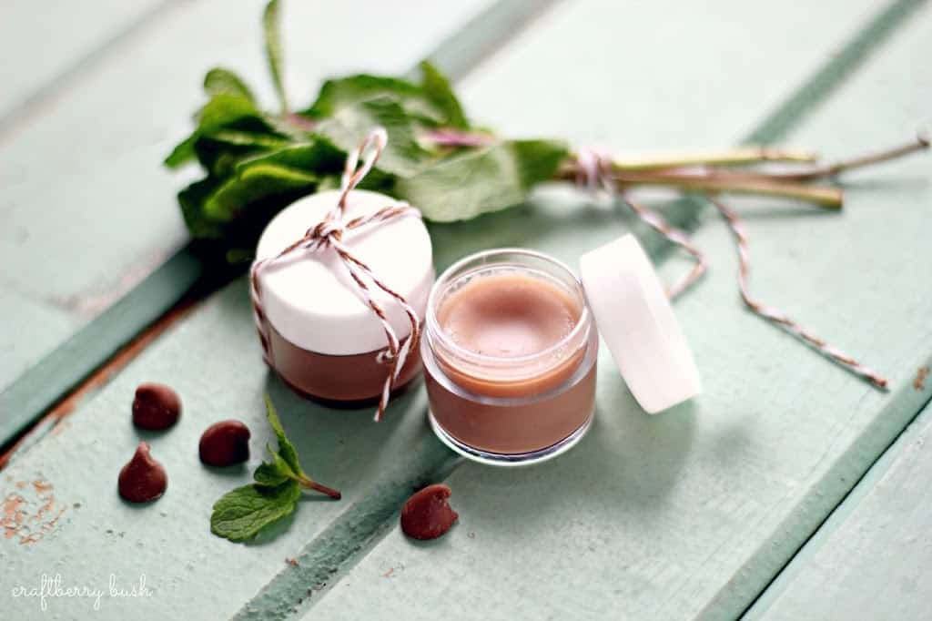 Choclate mint lip balm