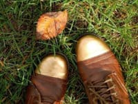 Chrome gold toes 200x150 15 Fun Ways to Customize Your Boots Before Winter Comes