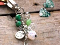 Coffee Shop Keychain 200x150 Beautify Your Keys With These DIY Keychains