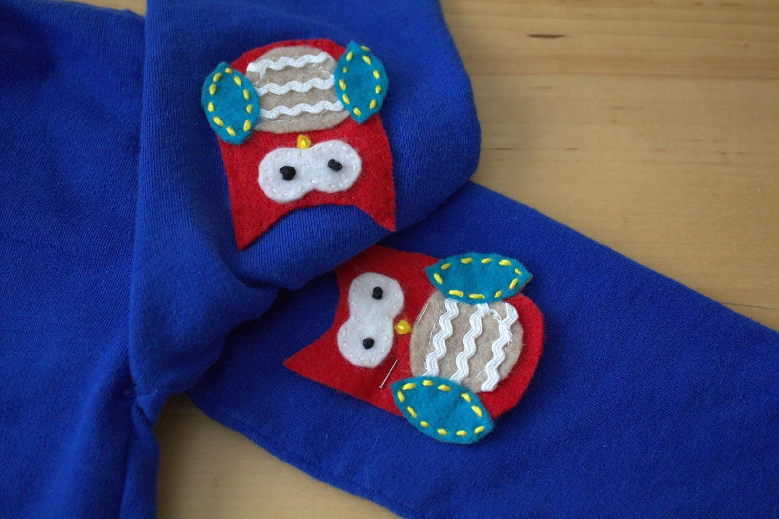 Cute baby Owl Elbow Patches