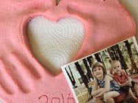 DIY hand and Photo Keepsake 200x150 9 Foot and Handprint Art Ideas for Kids