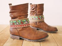Embroidered boot belt 200x150 15 Fun Ways to Customize Your Boots Before Winter Comes