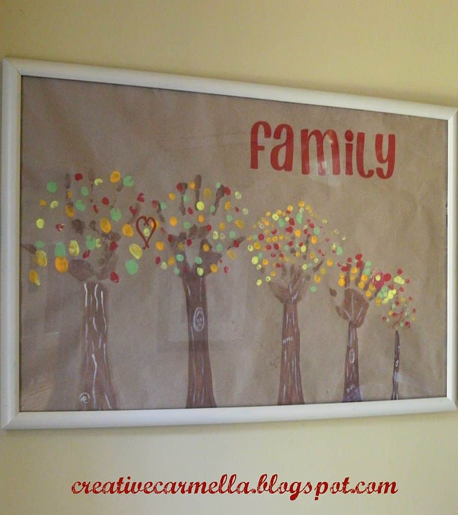 Family Tree Handprint