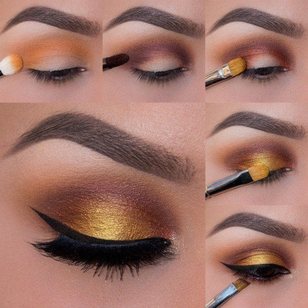 Foiled sunset eyes