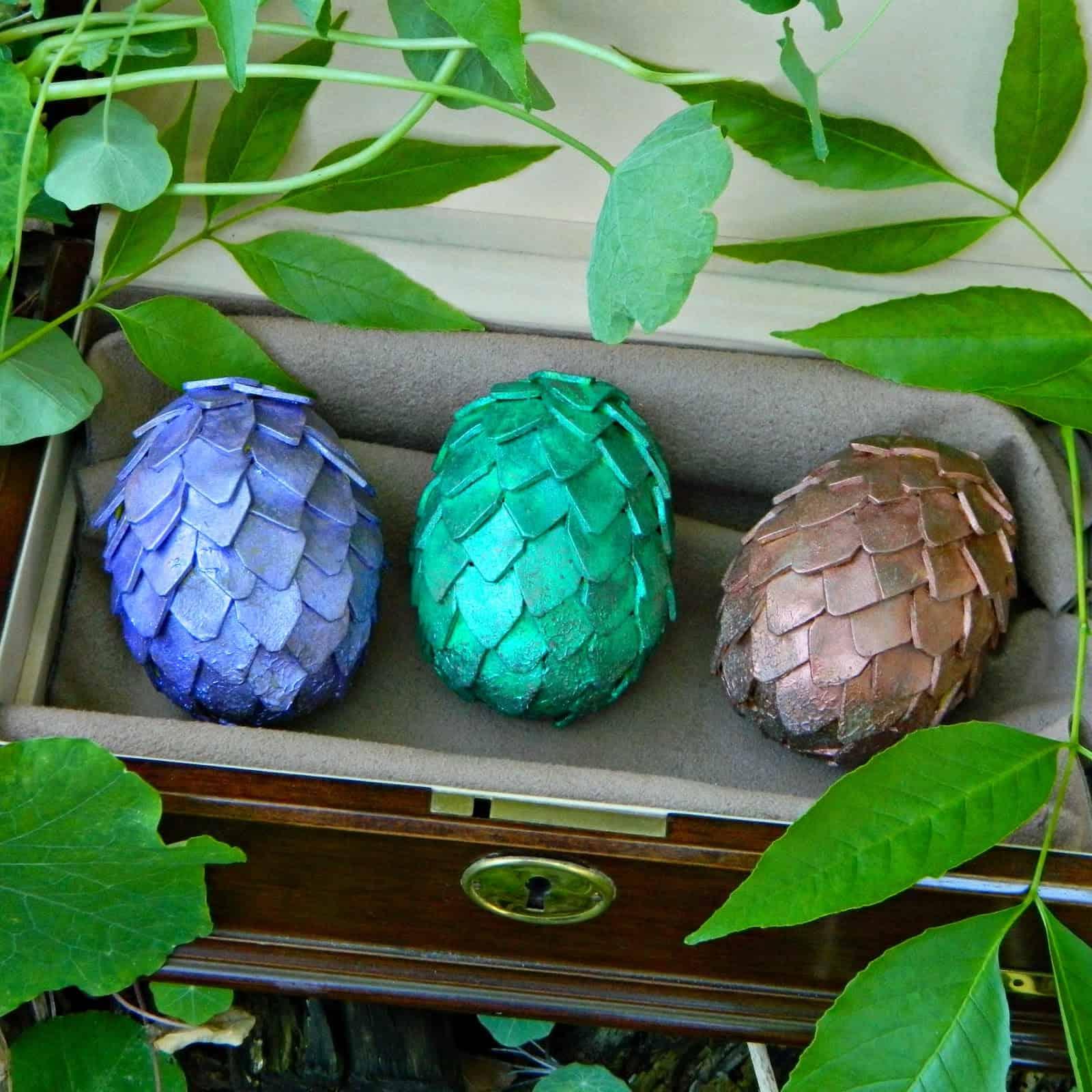 GoT dragon eggs