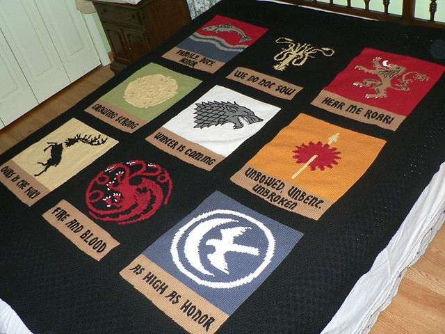 GoT house blanket