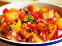 Grilled Pineapple Mango Salsa With Lime Tequila And Smoked Paprika 200x150 15 Yummy Recipes for Paprika Lovers