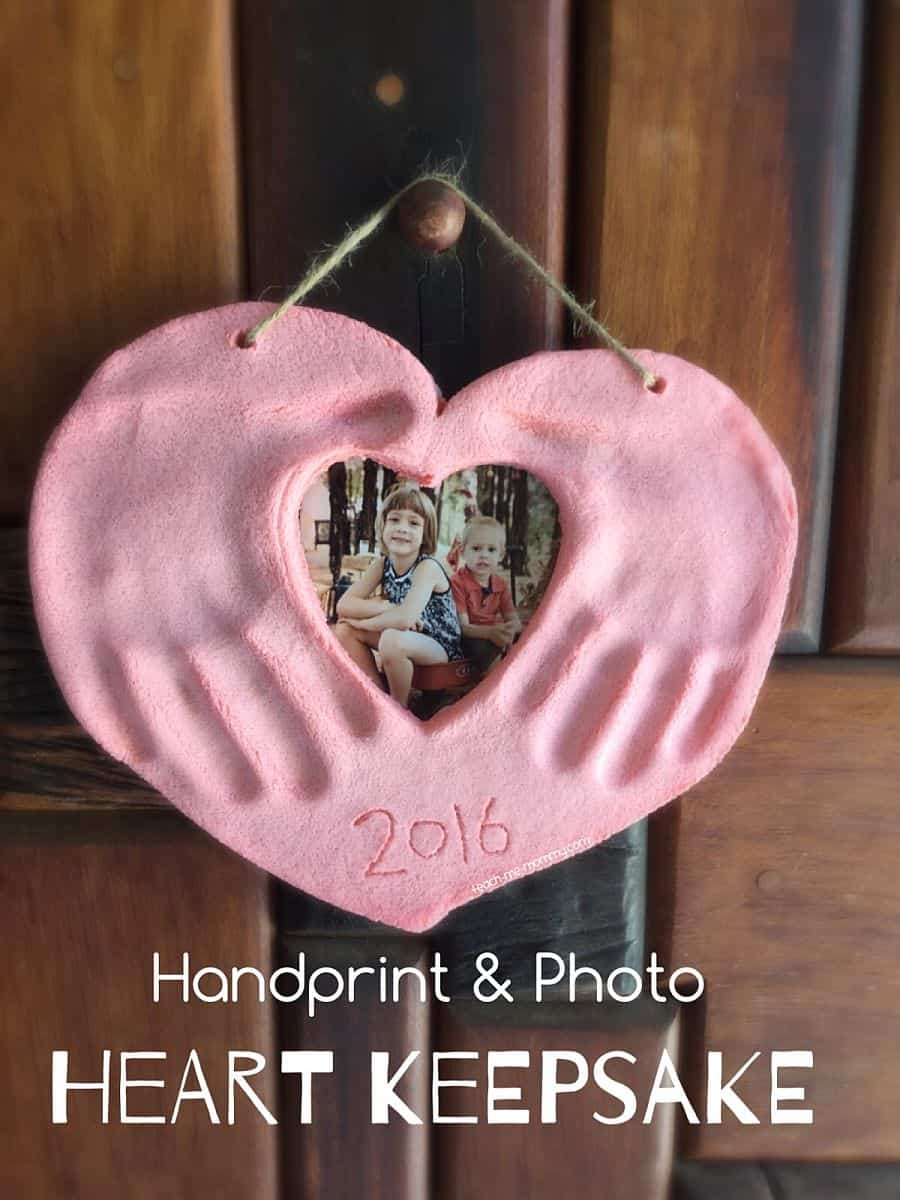 Hand and Photo Keepsake