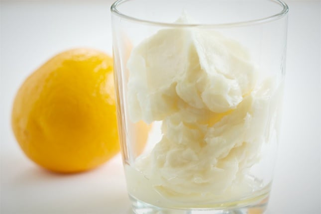 Lemon cream body butter
