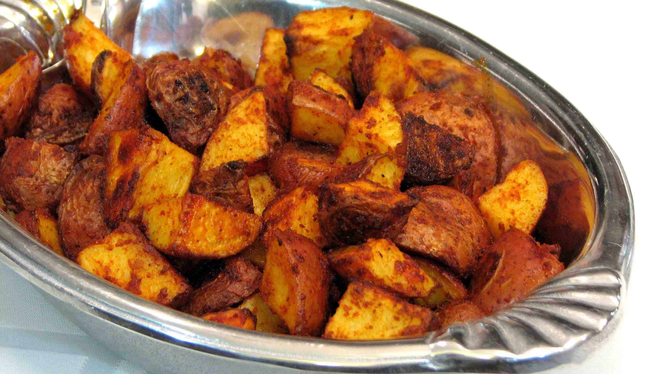 Paprika roasted baby red potatoes