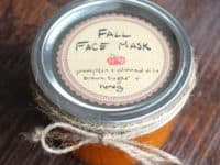 Pumpkin almond oil brown sugar and honey face mask 200x150 Fall Inspired DIY Beauty Products to Pamper Yourself With