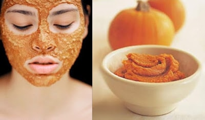 Pumpkin cream mask