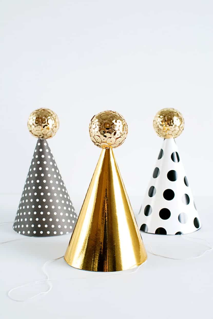 Sequin Party Hats