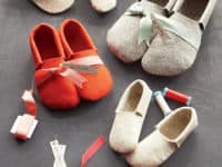 Sewn felt slippers 200x150 Step into Comfort: DIY Slippers to Keep Your Feet Cozy