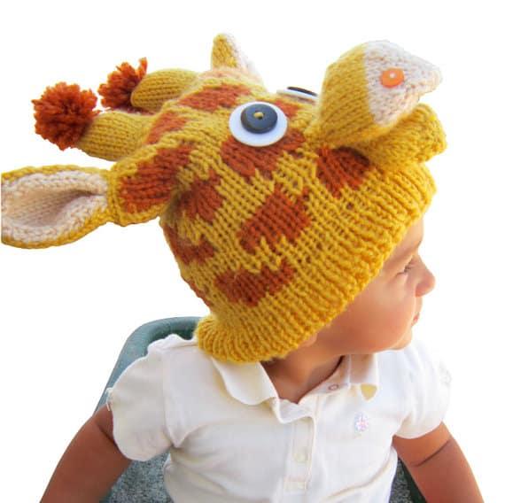 Silly giraffe hat