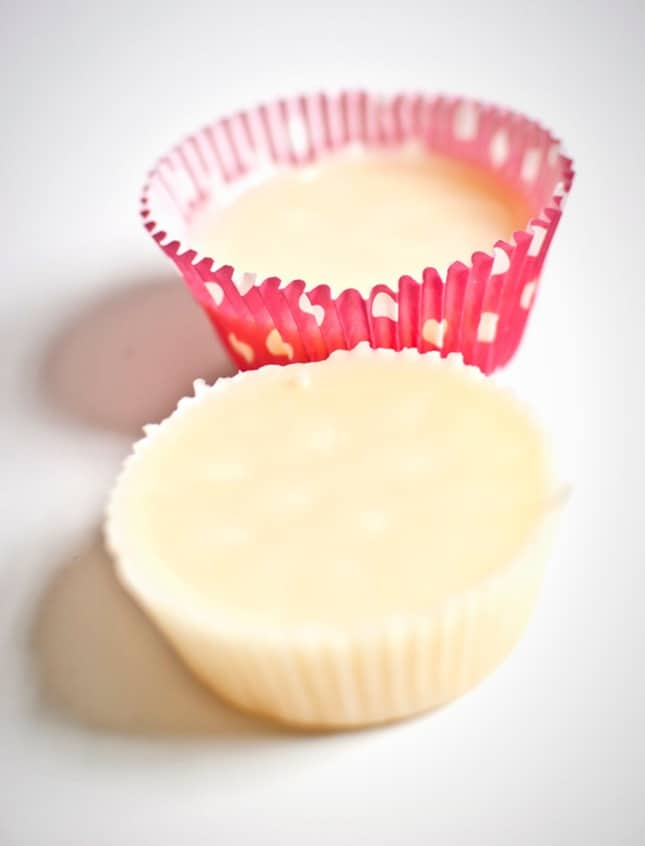Simple lotion bars