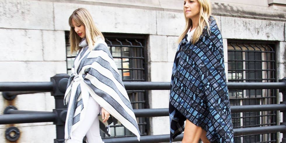 Trend blanket coat
