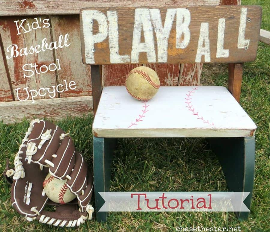 Upcycled Playball stool