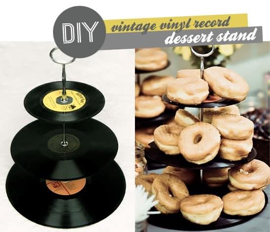 Vinyl desert stand