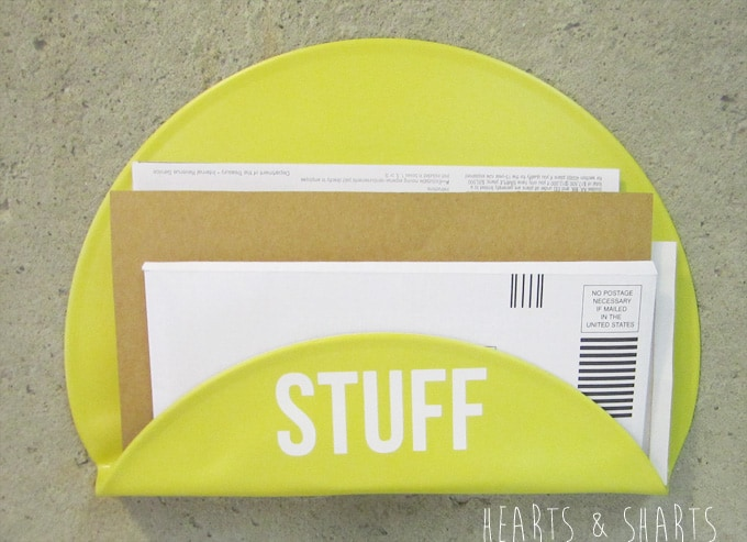 Vinyl mailholder