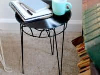 Vinyl record table 200x150 10 Creative Ways to Repurpose Your Old Vinyls