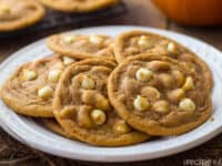 White chocolate pumpkin pudding cookies 200x150 Delicious Cookie Recipes for Holiday Season and Beyond!
