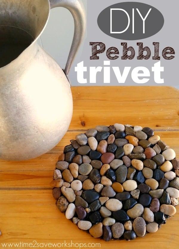Pebble trivet