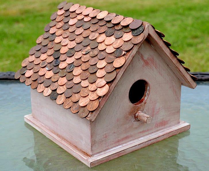 penny bird house