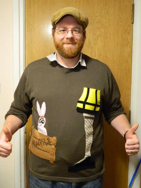 A Christmas story sweater
