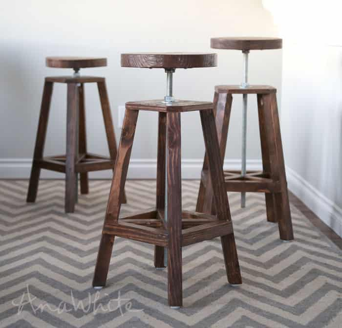 Ajustable Bar Stools