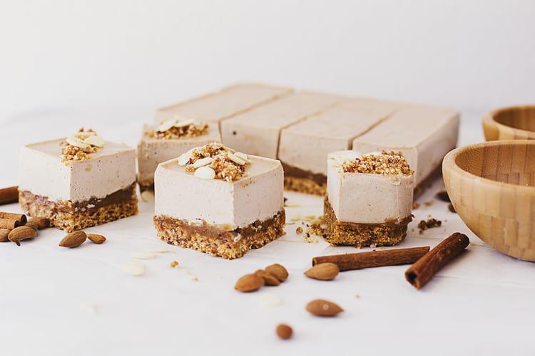 Almond & Caramel Cheesecake