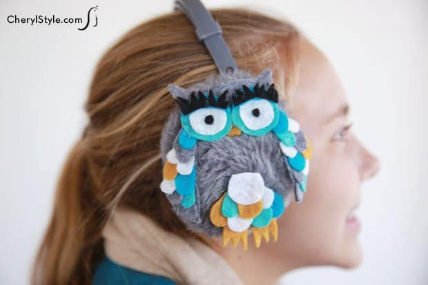 Animal Ear Muffs